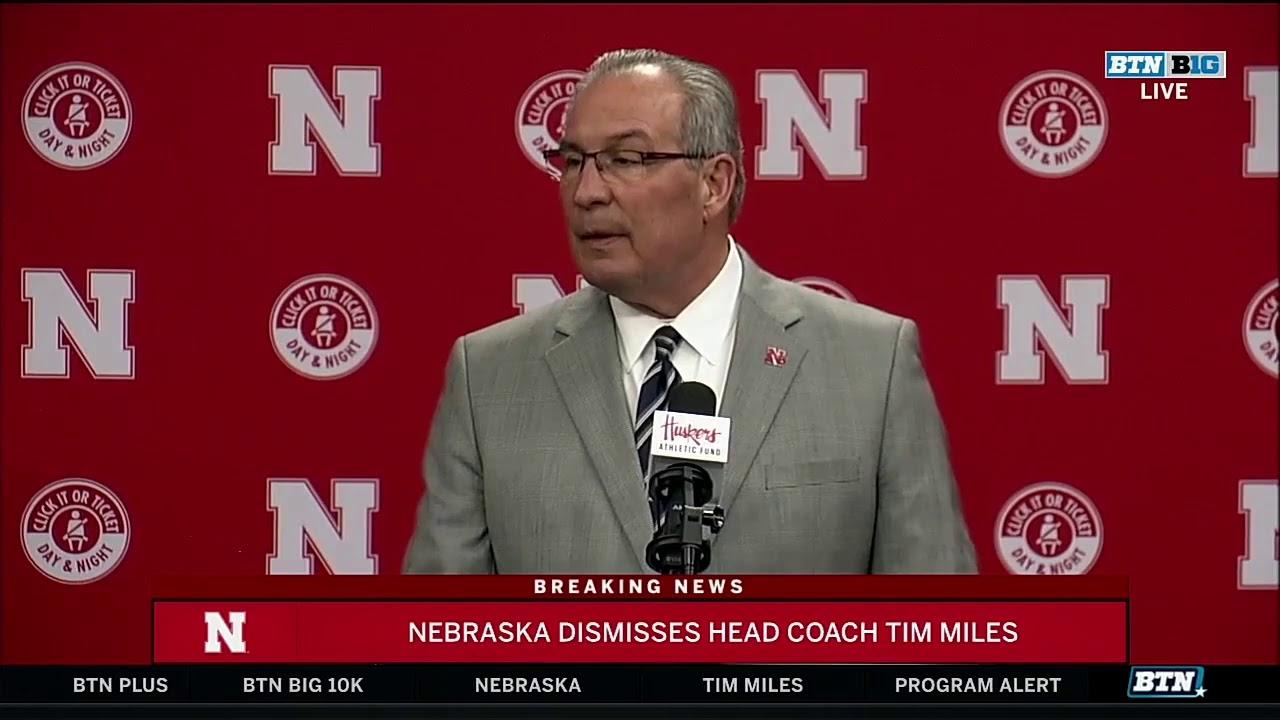 Nebraska Addresses Dismissal of Tim Miles