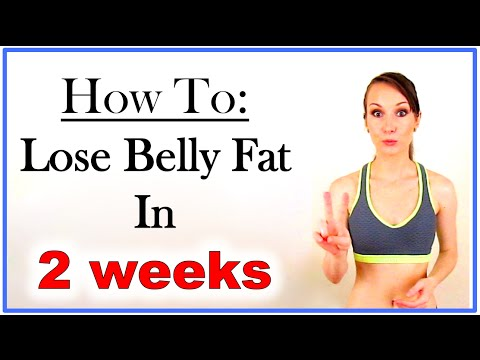 What to eat to lose belly fat in 2 weeks