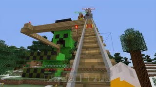 Repeat youtube video Minecraft Xbox - Thrill Ride [55]