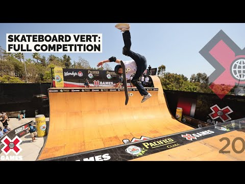 Pacifico Skateboard Vert: FULL COMPETITION | X Games 2021