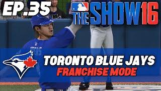 """MLB The Show 16 Blue Jays Franchise ep. 35 - """"Sanchez Shuts Down The Dodgers"""""""