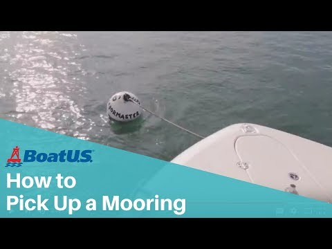 How to Pick Up a Mooring | BoatUS