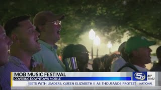 New music festival kicks off in Downtown Mobile tonight