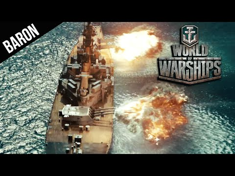 World of Warships - Battleship Row, Giant Battleship Battle!  Come see me in Cologne, Info!