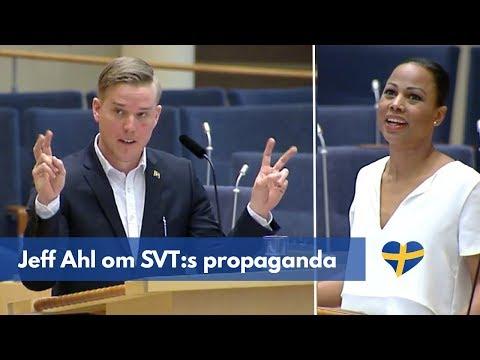 Jeff Ahl (AfS) om SVT:s propaganda