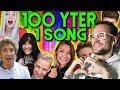 100 Youtuber singen zusammen!! - 1 MILLION Abospecial | Rezo | REACTION