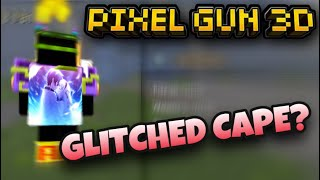 A Player With A Glitched Cape? | Pixel Gun 3D