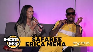 Safaree and Erica Mena on Who Said I Love You First and His New Music