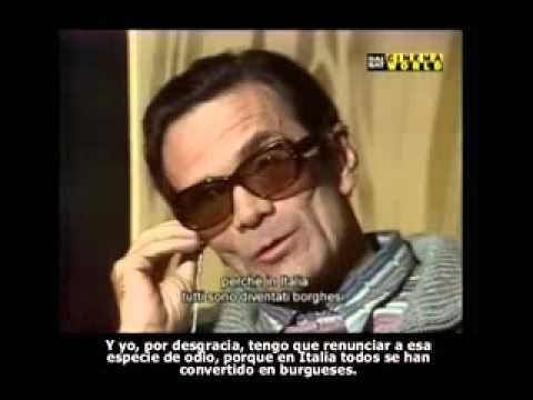 La últime entrevista - Pasolini en español