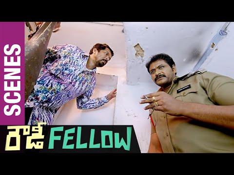 Rowdy Fellow Telugu Movie Scenes | Posani Krishna Murali & Supreet Plan Against Nara Rohit