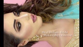 Desi Bridal Makeup  MakeupbyAzmeree