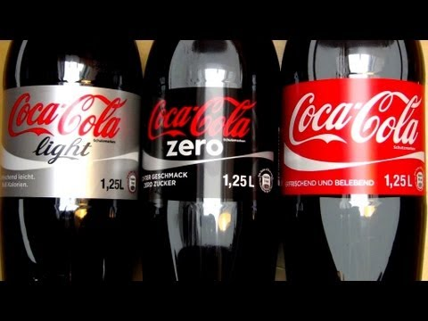 coca cola battle classic vs zero vs light youtube. Black Bedroom Furniture Sets. Home Design Ideas