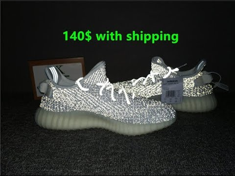 744df8c0072 adidas Yeezy Boost 350 V2 Static reflective review (best reps) - YouTube