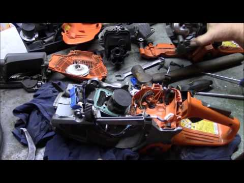 "Husqvarna 562xp ""Dead Saw"" Salvage Part 1. Assessment & Reclamation"