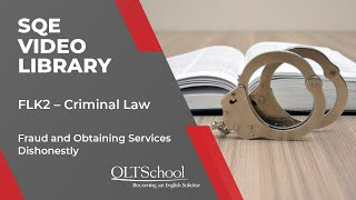 MCT Video Library Preview - Outcome A7 – Criminal Law - Offences Against Property 1