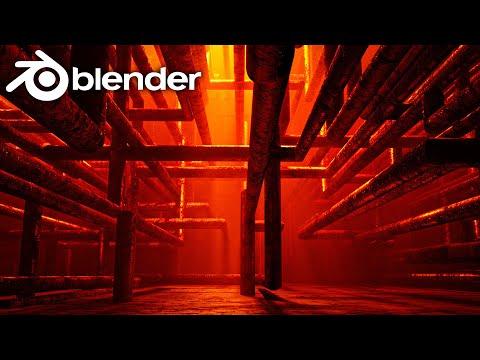 Easy Pipe Generator In Blender 2.82 (RandoGrid)
