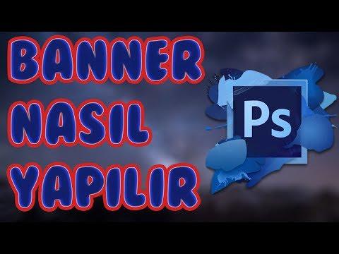 Youtube Kanal Resmi Banner Nasıl Yapılır?- Photoshop CS6
