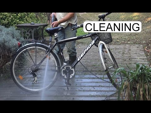CLEANING MY BICYCLE
