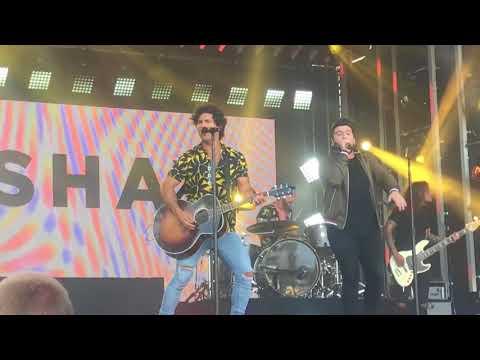 Dan + Shay - Alone Together (7/31) - Jimmy Kimmel Live