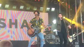 Dan + Shay - Alone Together (7/31) - Jimmy Kimmel Live