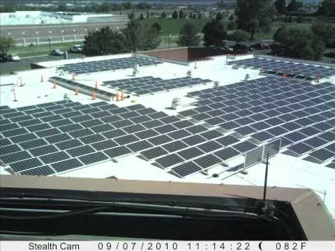 Commercial Solar Installation - Douglass Colony Time Lapse Short