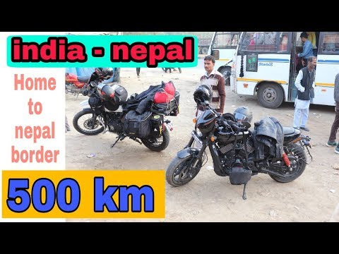 india  to nepal bike trip day 1 | lucknow to nepal border