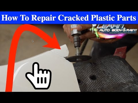 SIMPLE Cracked Plastic Repair Techniques for Car or Bike Parts