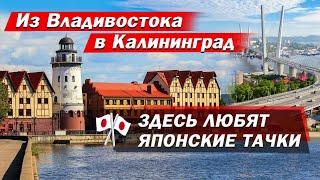 Из Владивостока в Калининград Рай для автомобилистов. Культурный шок от Калининграда.