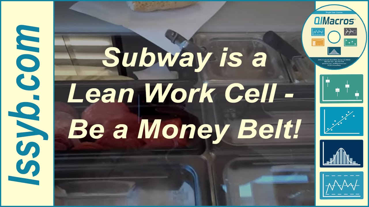 Subway Is A Lean Work Cell Be A Money Belt Youtube