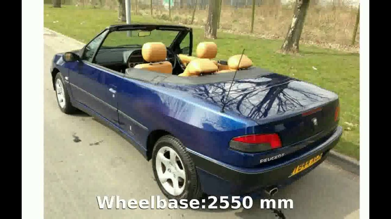2001 Peugeot 306 Cabriolet - Features and Review - YouTube