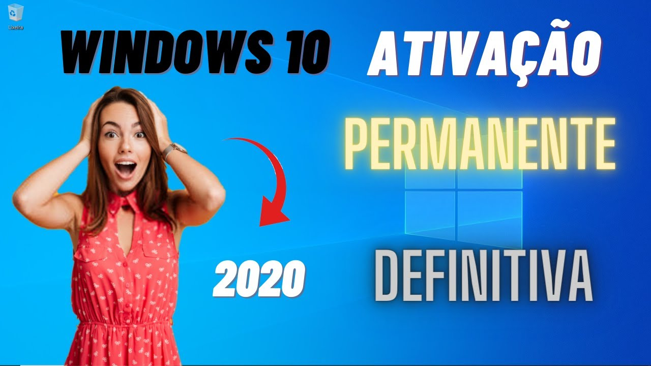 🟢 Como ativar o Windows 10 PERMANENTE e DEFINITIVO com 2 comandos em [2020] 🔵