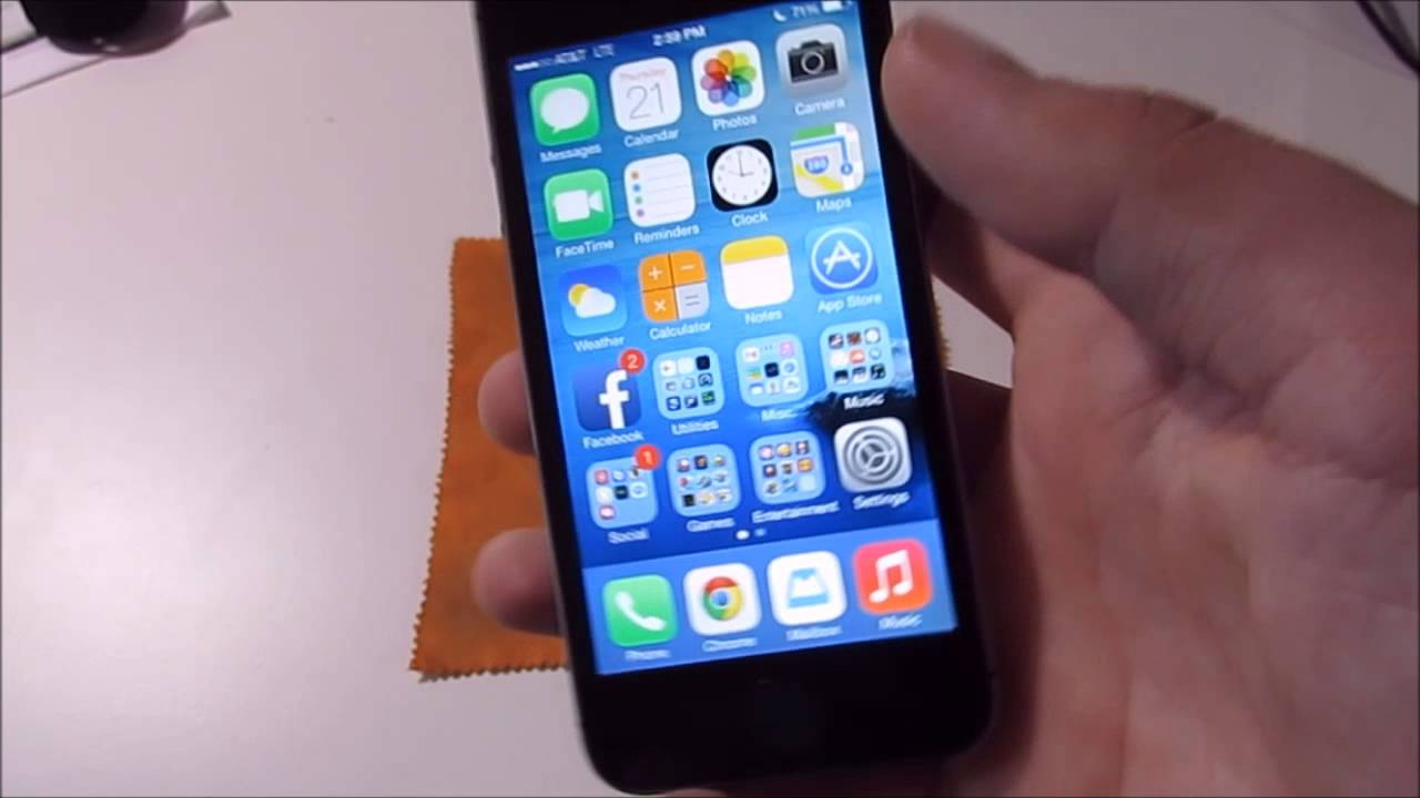 Review Apple IPhone 5s 32GB Space Gray