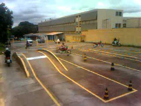 aula de moto na pista da auto escola nacional gp youtube