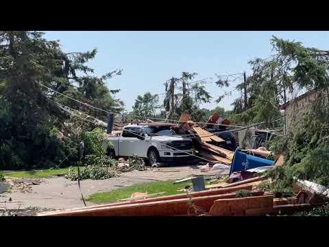 07-25-2021 - White Lake, MI - Tornado Damage - Homes Damaged
