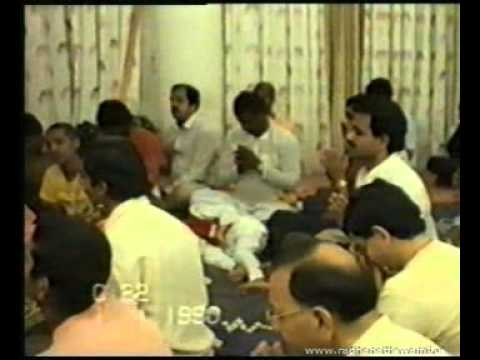 Lecture at  Krishnachandra Prabhu's Residence 04 on 31st Dec 1989  (Old Lectures)