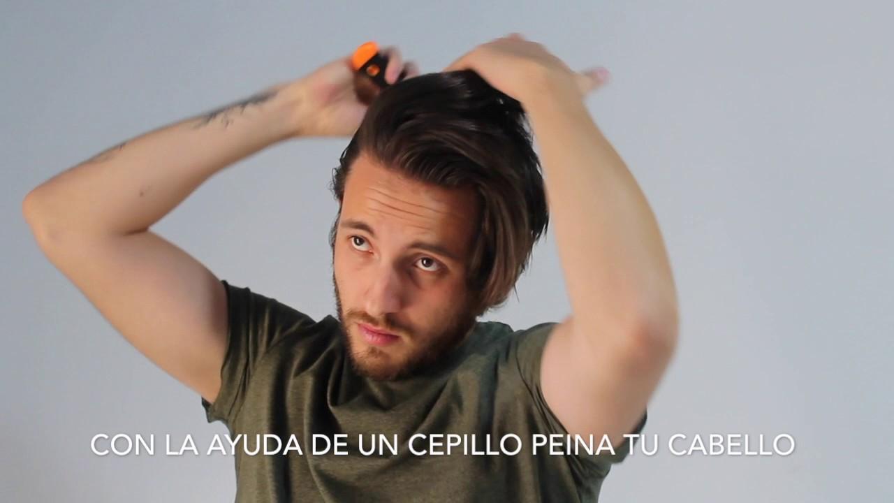 Peinado Con Cabello Semi Largo Hombre 2017 Jr Style Youtube