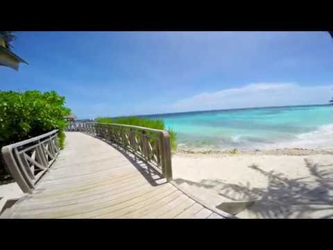 Bandos Island Resort & SPA (Maldives) - island walk around 2015 HD
