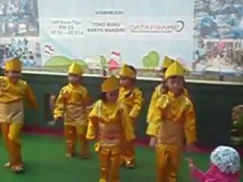 Tarian Bunga Jeumpa Aceh Paud Cempaka 05 Duren Tiga Youtube