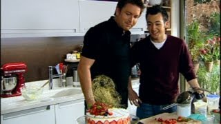 Strawberry Cream Cake - Sweet Baby James - BBC Food