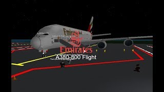 [ROBLOX] Emirates-A380 800 Flight