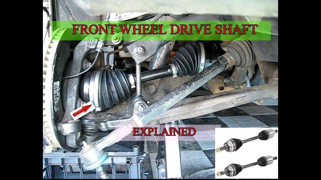 Front Wheel Drive Mechanism