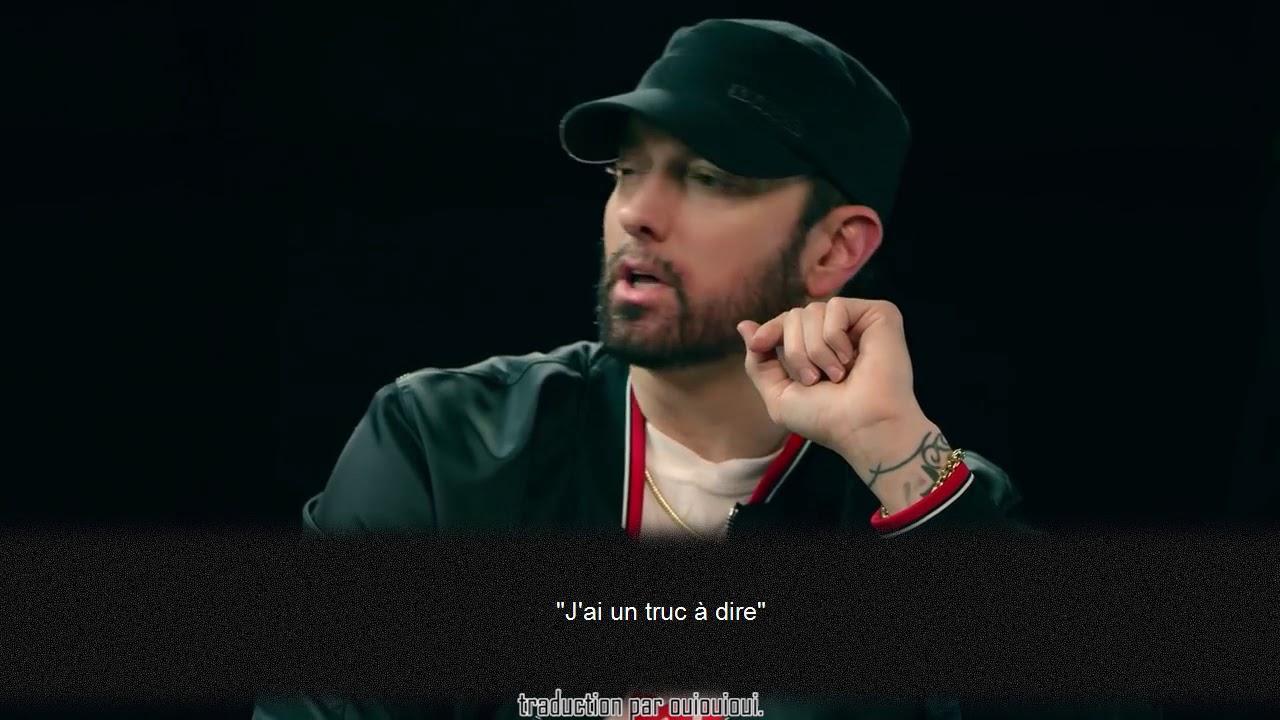 Eminem explique POURQUOI il a ATTAQUÉ MGK (Kamikaze Interview Traduction)