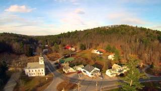 Enya - Pale Grass Blue: Kezar Lake and North Sutton, New Hampshire with Yuneec's Q500 Typhoon drone