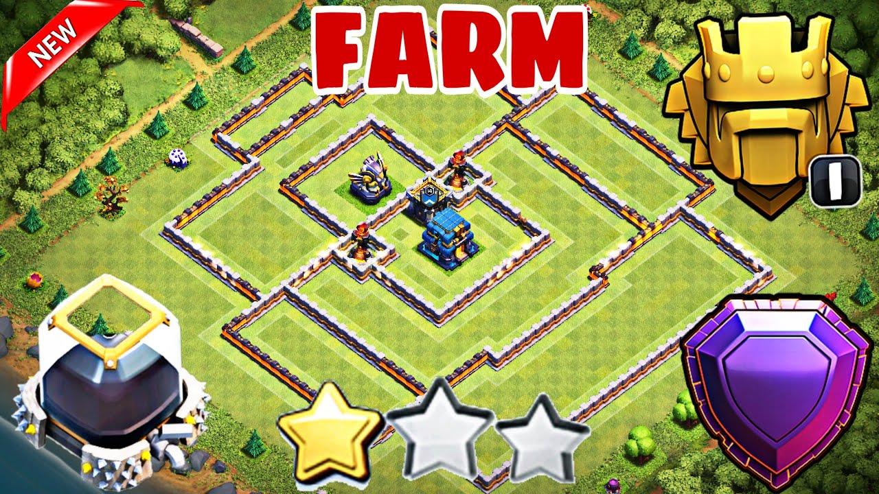 Base Farming Th 12 Legend 4