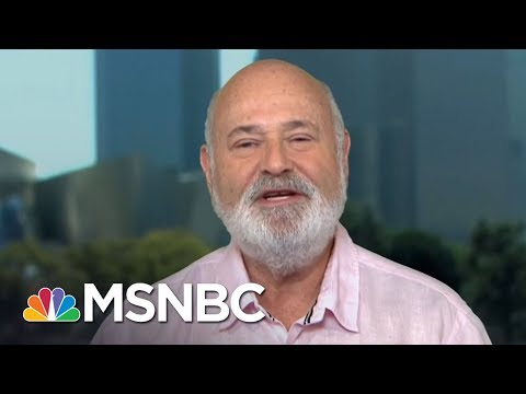 Rob Reiner: 'We Are In A Cyberwar With An Enemy Power'  AM Joy  MSNBC