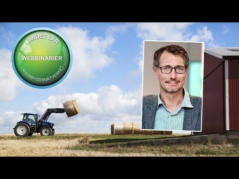 Landet lär #26 Hur kan lantbruket minska sin klimatpåverkan - och hur mycket?