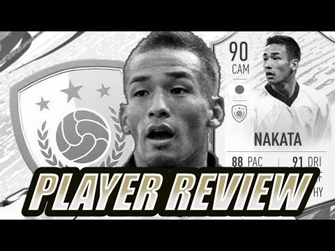 90 ICON MOMENTS NAKATA Player Review
