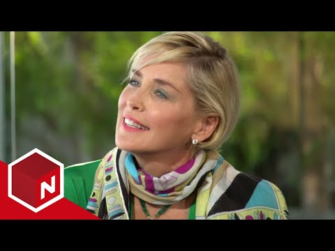Kanal Valen - Sharon Stone full interview part 1