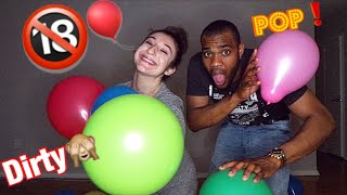POP THE BALOON CHALLENGE!! **DIRTY EDITION**