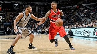 Damian Lillard Scores Career-High in Triple OT Win vs. Spurs